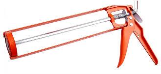 Caulk gun to make paper logs