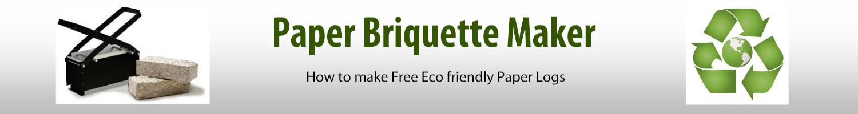 Paper Briquette Maker